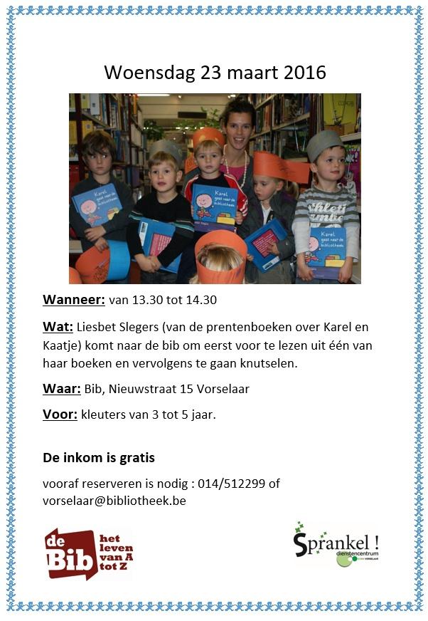 2016-03-23 Liesbet Slegers bib Vorselaar