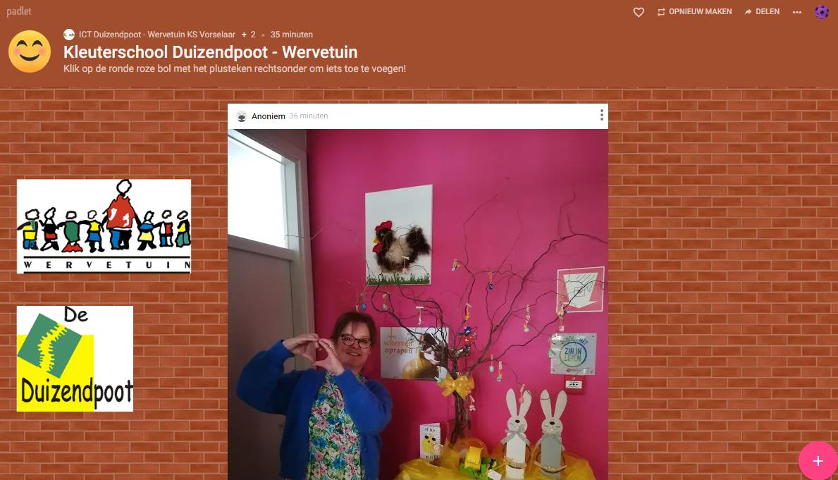 Padlet Duizendpoot - Wervetuin